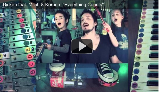 "Covertube: Dicken feat. Milah & Korben, covering Depeche Mode's ""Everything Counts"""