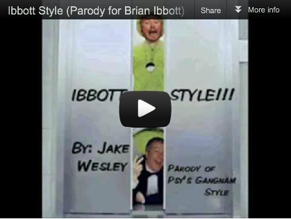 """Ibbott Style"", a parody of the ""Gungnam Style"" tune by PSY, now has a video!"