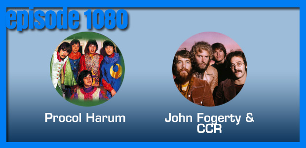 Coverville  1080: Creedence Clearwater Revival and Procol Harum Cover Stories