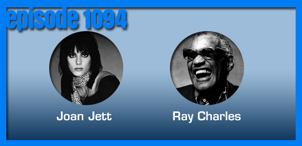 Coverville  1094: Cover stories for Joan Jett and Ray Charles