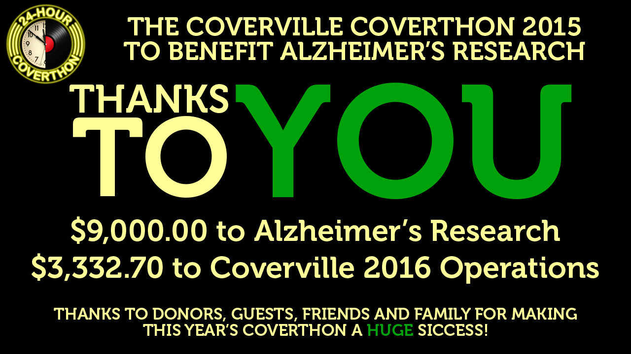 Coverthon 2015 a huge success thanks to YOU
